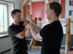 Eine Übung des Wing Chun Kung Fu